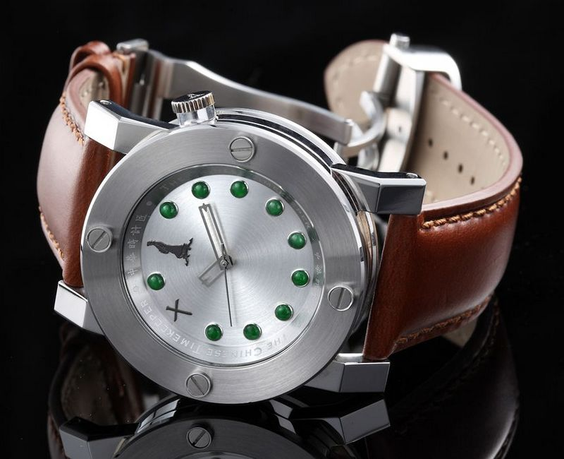 Chinese Timekeeper CTK 14 Jade Three Hands Automatic Watch