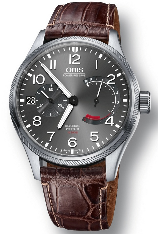Oris Big Crown ProPilot Calibre 111 Watch Crocodile Leather Strap