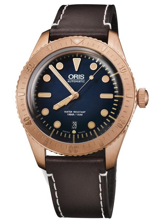 Oris Carl Brashear Limited Edition Watch Front