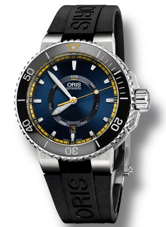 Oris Great Barrier Reef Limited Edition II Watch Rubber Strap