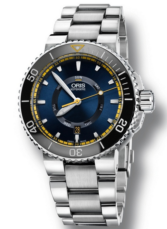 Oris Great Barrier Reef Limited Edition II Watch Stainless Steel Bracelet