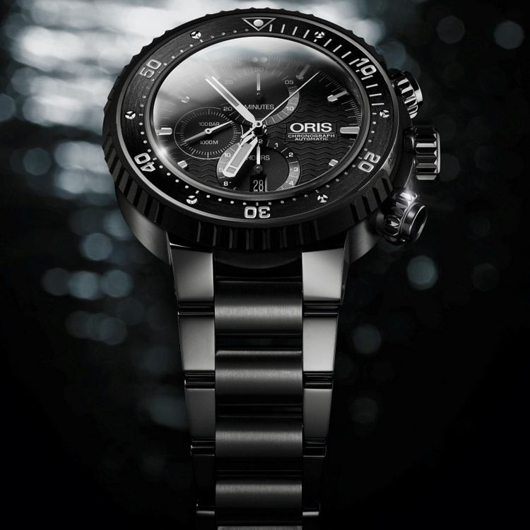 Oris ProDiver Chronograph Watch Front