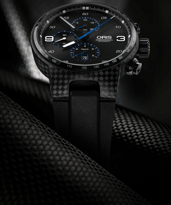 Oris Williams Chronograph Carbon Fibre Extreme Watch
