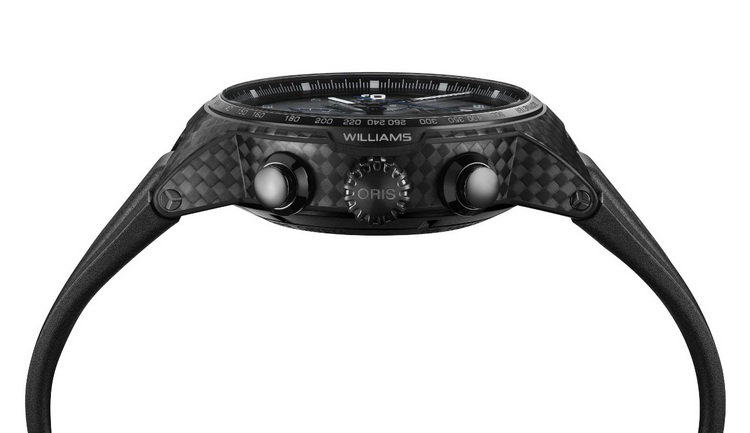 Oris Williams Chronograph Carbon Fibre Extreme Watch Profile