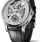 L.Leroy Osmior Skeleton Automatic Tourbillon Regulator Watch ll107-1 Front
