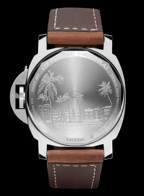 Panerai Luminor Marina Miami Special Edition Watch Caseback