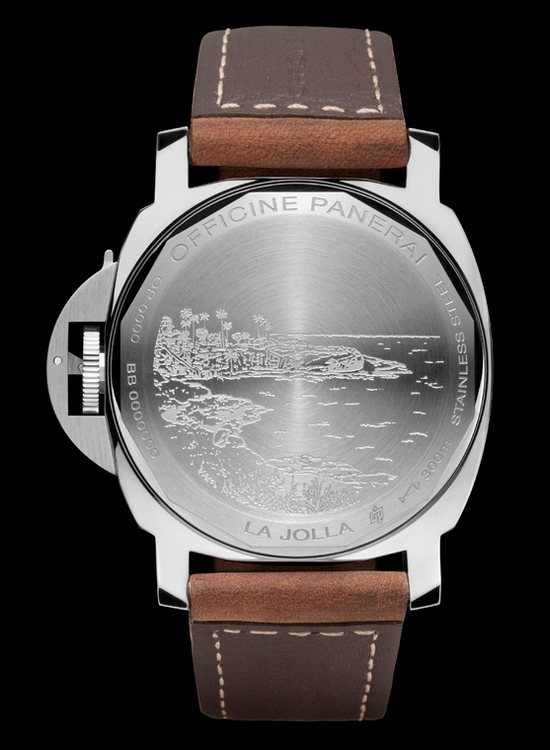 Panerai Luminor Marina La Jolla Special Edition Watch Caseback