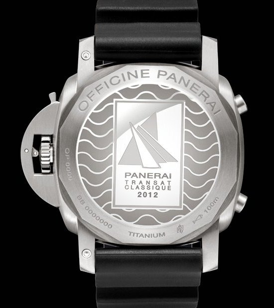 Panerai Luminor 1950 Rattrapante 8 Days Titanio - 47mm Watch Back