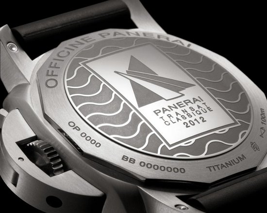 Panerai Luminor 1950 Rattrapante 8 Days Titanio - 47mm Watch Caseback