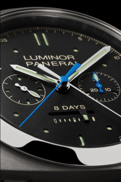 Panerai Luminor 1950 Rattrapante 8 Days Titanio - 47mm Watch Dial