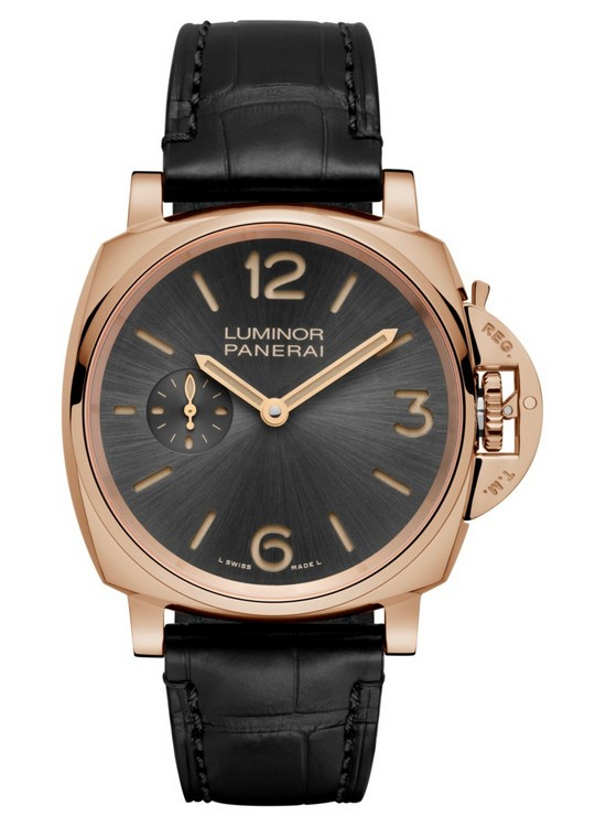 Panerai Luminor Due 3 Days Oro Rosso 42 mm Watch