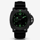 Panerai Luminor Submersible 1950 3 Days Automatic Titanio PCYC 10  Years Watch Dark
