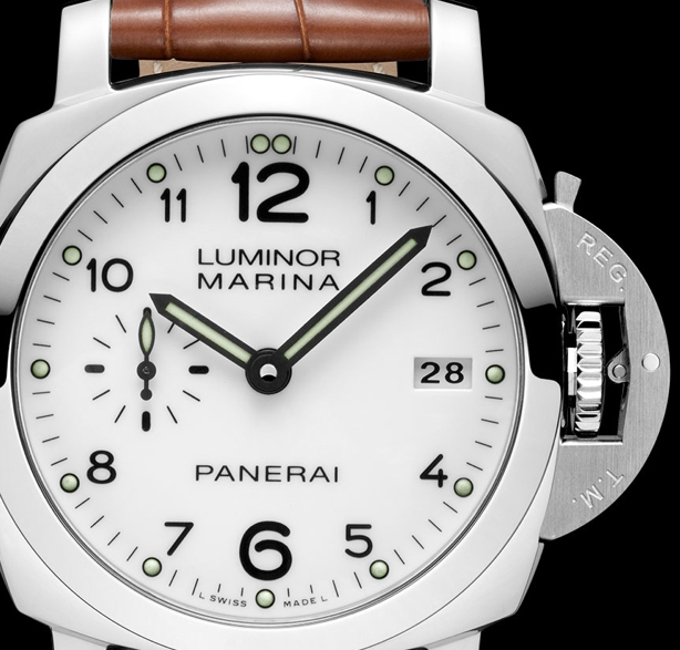 Panerai PAM 00523 Luminor Marina 1950 3 Days Automatic 42mm Watch Dial