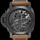 Panerai Lo Scienziato Luminor 1950 Tourbillon GMT Ceramica Watch Case Back
