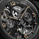 Panerai Lo Scienziato Luminor 1950 Tourbillon GMT Ceramica Watch Dial