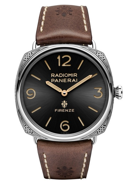Panerai Radiomir Firenze 3 Days Acciaio PAM00672 Watch Front