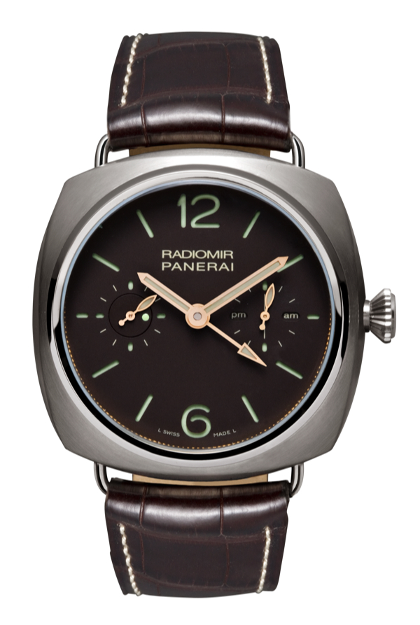 Panerai Radiomir Tourbillon GMT Titanio 48mm Watch PAM315