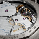 Panerai Radiomir Tourbillon GMT Titanio 48mm Watch PAM315 movement detail