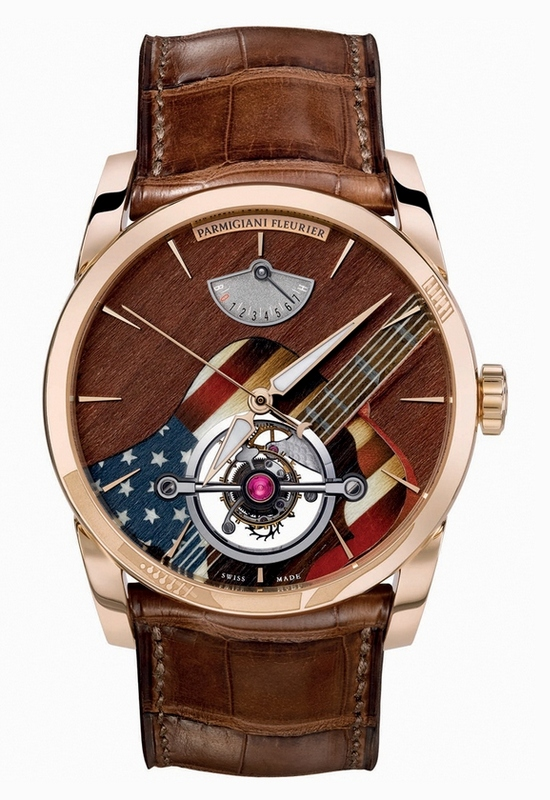 Parmigiani Fleurier Tonda Tourbillon Woodstock Watch