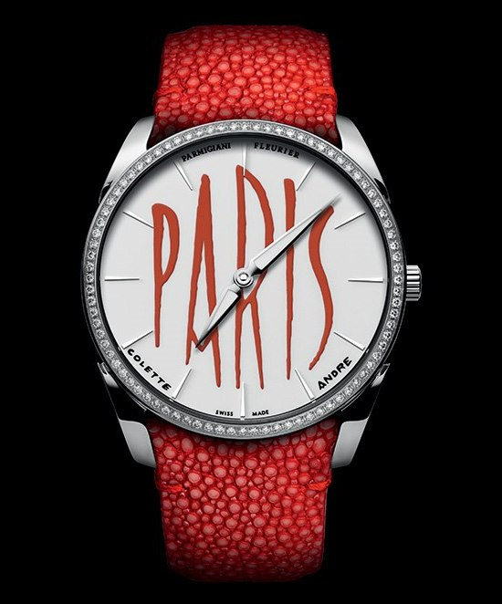 Parmigiani Tonda 1950 Colette Special Edition Watch Paris Diamons