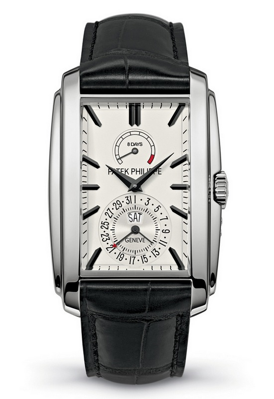 Patek Philippe Gondolo Ref. 5200 8 Days Silver Watch