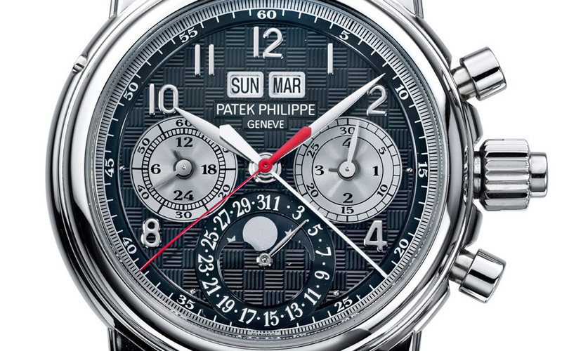 Patek Philippe Ref. 5004T Dial - Only Watch 2013