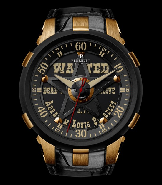 Perrelet Turbine XL Sheriff 2015 Only Watch Front