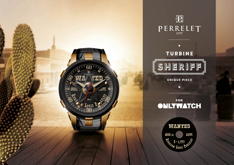 Perrelet Turbine XL Sheriff 2015 Only Watch