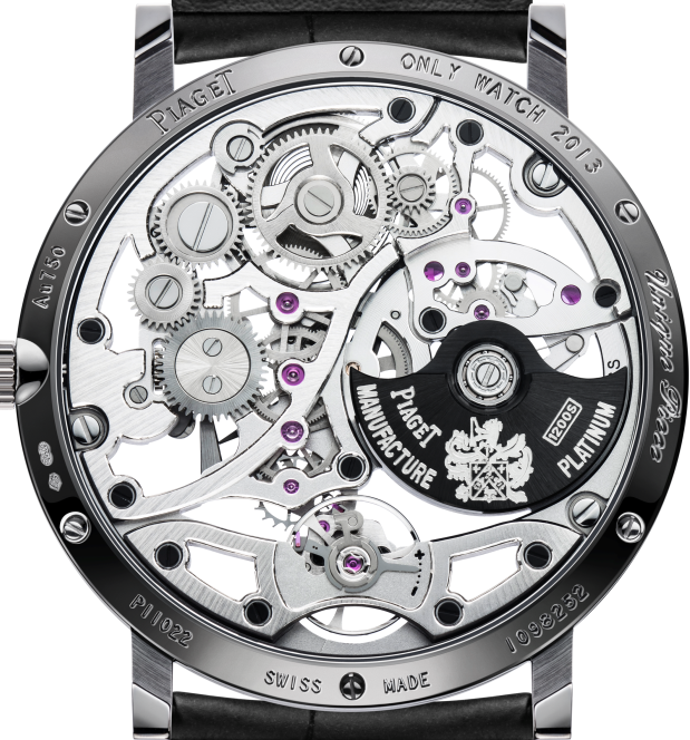 Piaget Altiplano Skeleton Watch Caseback