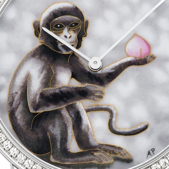 Piaget Altiplano Year of the Monkey Watch - Detail