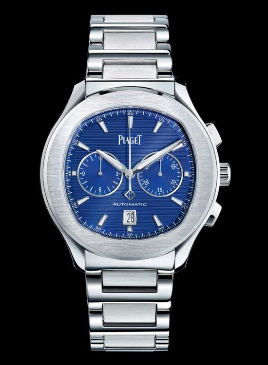 Piaget Polo S Chronograph Blue Dial Watch