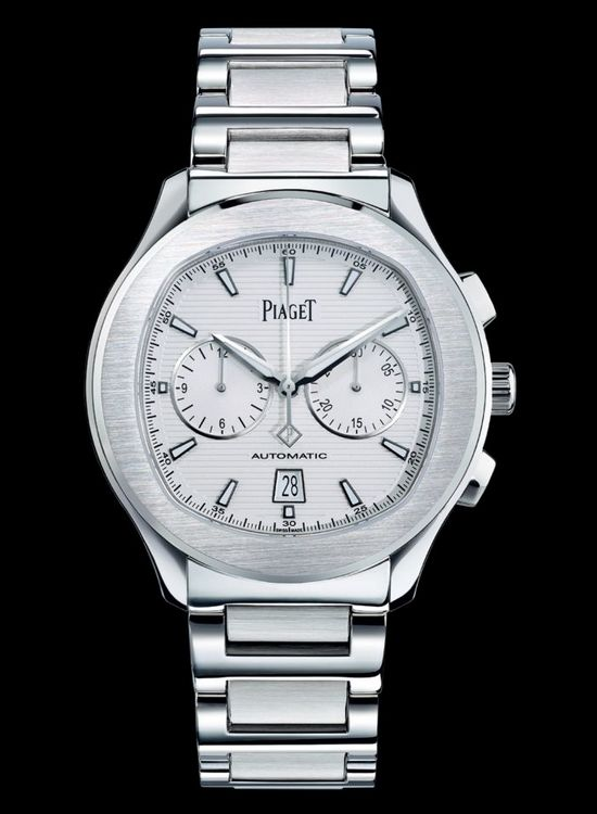 Piaget Polo S Chronograph Silver Dial Watch