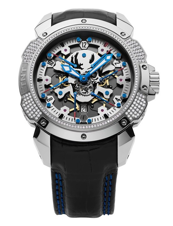 Pierre DeRoche TNT Royal Retro Skull Limited Edition Watch
