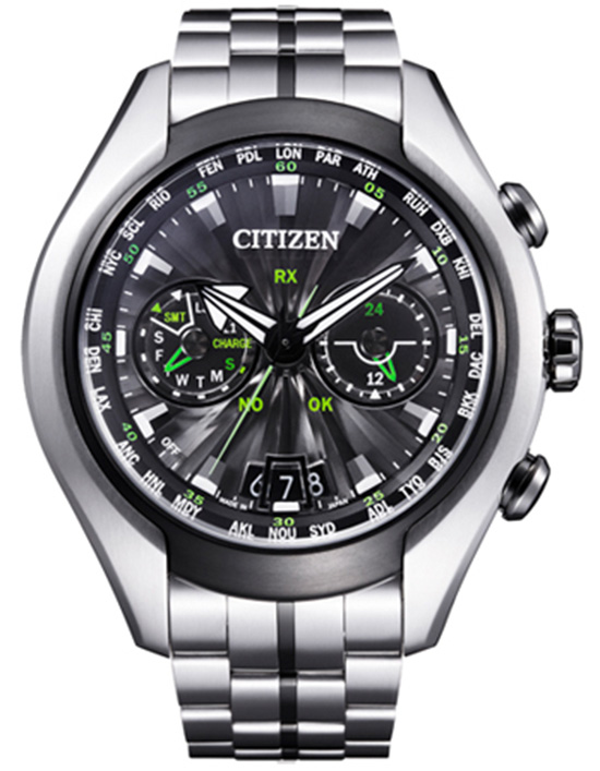 Citizen Promaster Satellite Wave Air Steel Watch