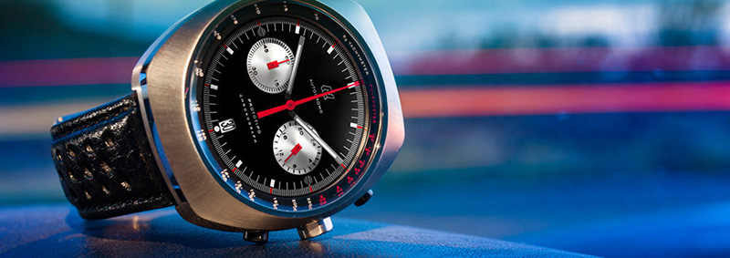 Autodromo Prototipo Chronograph Black Dial Watch