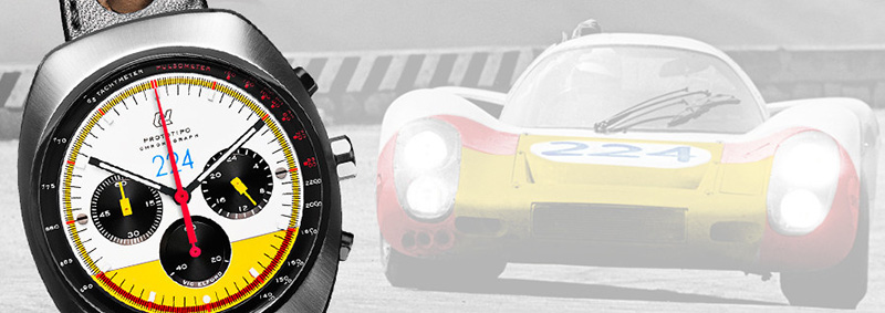 Autodromo Prototipo Chronograph Vic Elfor Limited Edition Watch