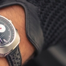 Autodromo Prototipo Chronograph Black Dial Watch On Hand