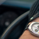 Autodromo Prototipo Chronograph Vic Elfor Limited Edition Watch On Hand
