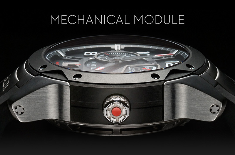 Halda Race Pilot Mechanical Watch Profile