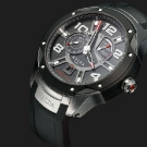 Halda Race Pilot Mechanical Watch Front