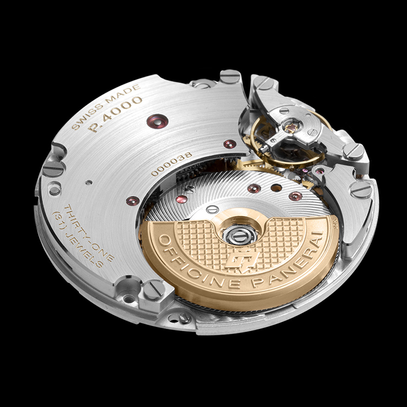 Caliber P.4000 Movement Side