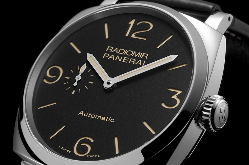 Panerai Radiomir 1940 3 Days Aitomatic Acciaio Watch Dial