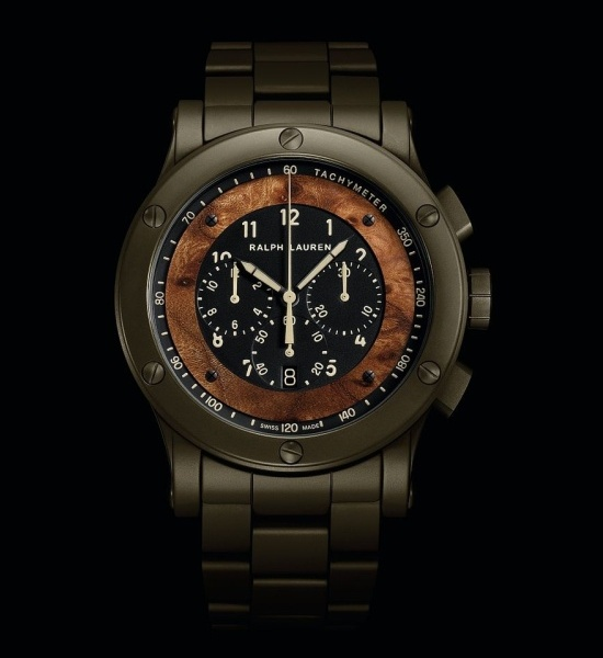 Ralph Lauren RL67 Safari Automotive Chronograph Watch