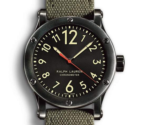 Ralph Lauren RL67 Safari Chronometer Watch Dial