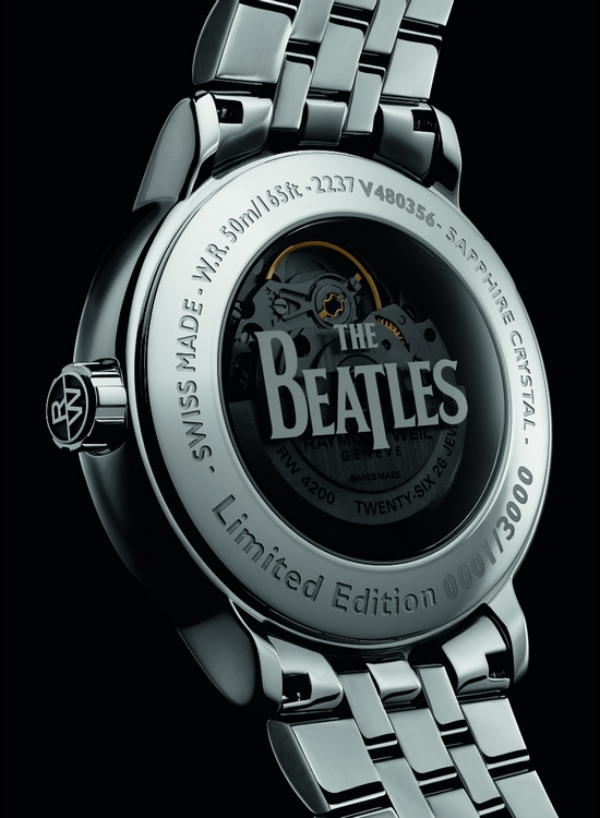 Raymond Weil Beatles Watch Case Back