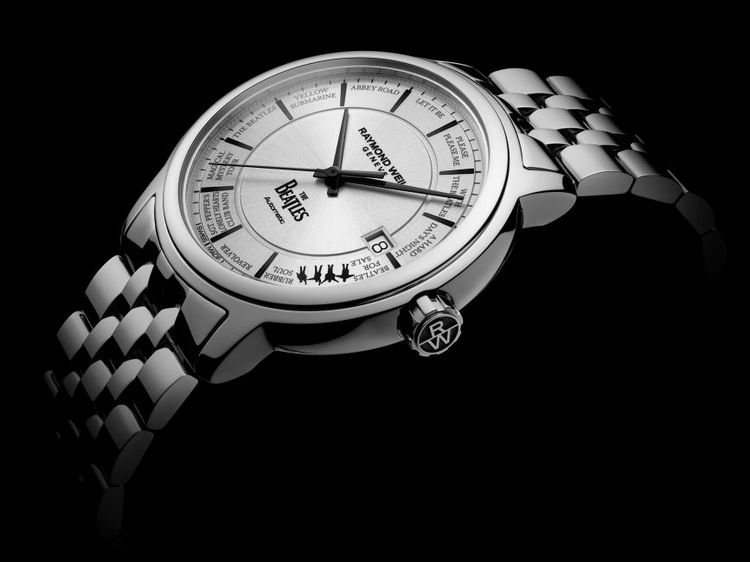 Raymond Weil Beatles Watch Profile