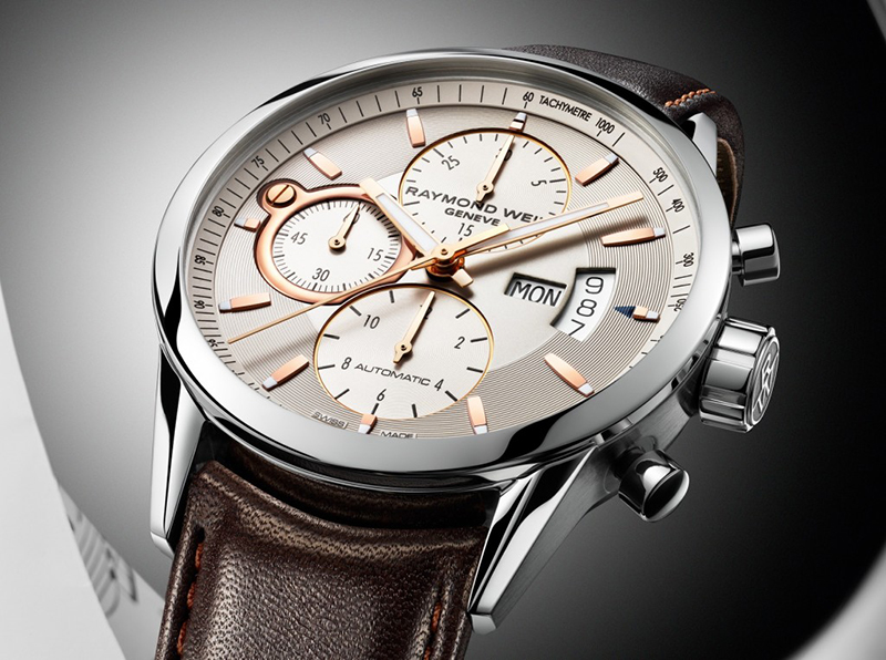 raymond weil freelancer 7730 chronograph day date watches watch review