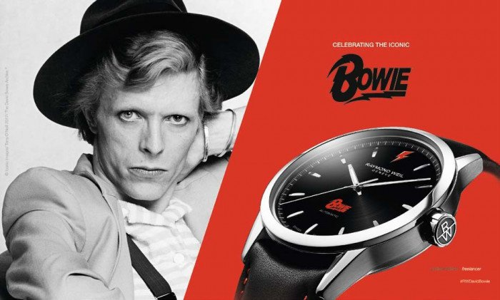 Raymond Weil Freelancer David Bowie Watch