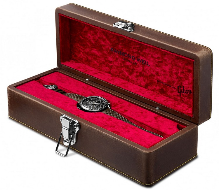 Raymond Weil Freelancer Gibson Les Paul Watch Box