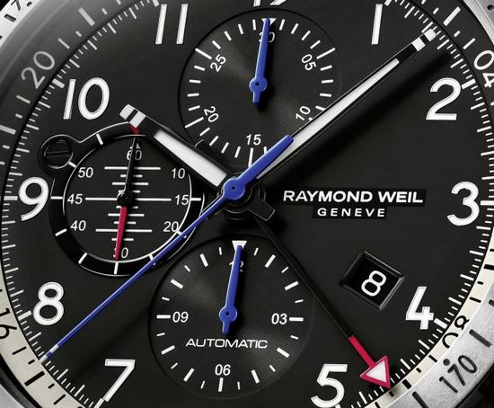 Raymond Weil Freelancer Piper Watch Dial